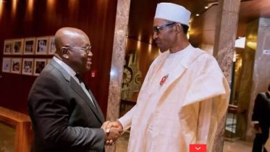 Akufo-Addo apologises to Buhari over demolition at Nigerian High C'ssion residence
