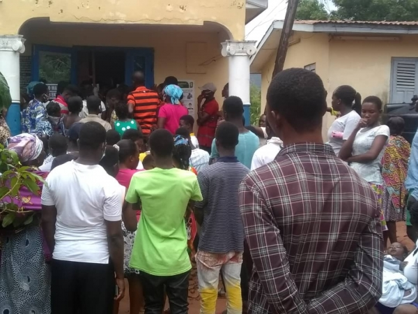 National Identification Authority worker stabs colleague at Ghana Card distribution centres