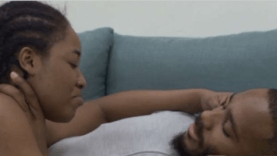 BBNaija Erica and Kiddwaya 'cuddle aggressively' under the sheets (video)