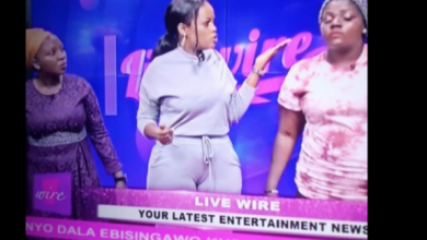 NTV Presenter Gabbie Ntale Puts Male Viewers On Tenterhooks As Her Tight Designer Pants Finally Reveal The Size Of Her Pussy
