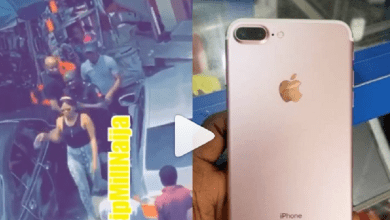 Nigeria Slay Queen Arrested after Stealing an IPhone 7 Plus and hiding it inside her Private Part