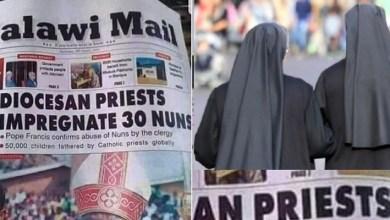 Catholic priest impregnates 30 Roman Sisters
