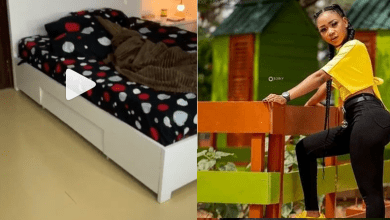 Akuapem Poloo Bedroom Video