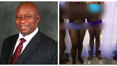 Ex-minister denies being involved in stripping his staff naked
