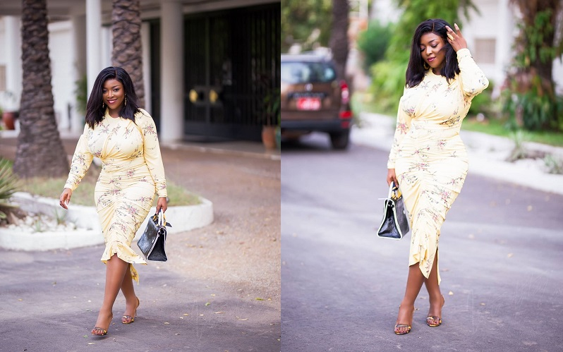 Yvonne Okoro causes commotion with latest photos
