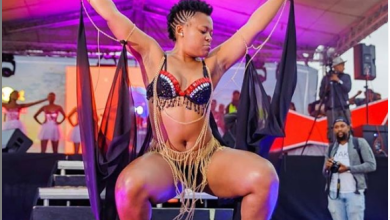 Zodwa Wabantu gets her panties wet, but she doesn't care