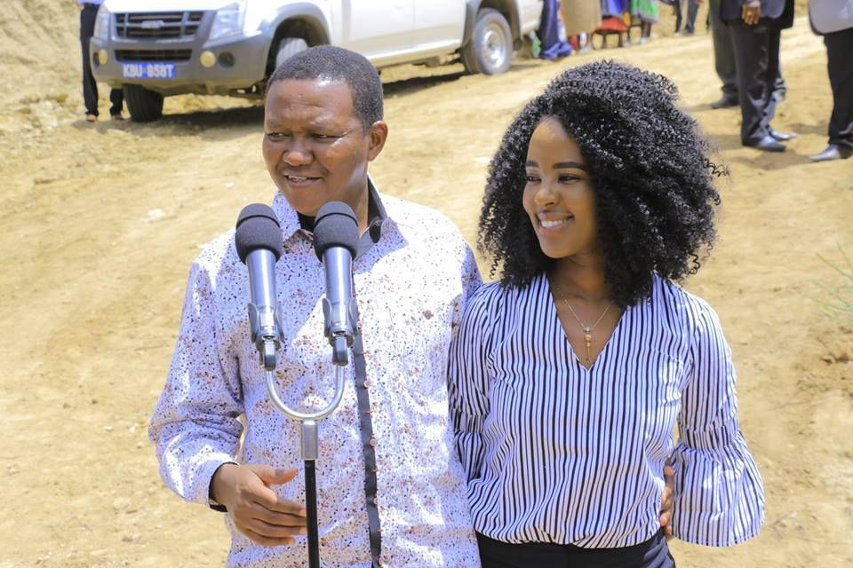 Member of Parliament caught chewing Governor's wife
