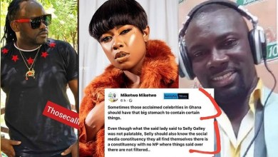 Celebrities at War Angry Musician Threatens To Beat Adom FM Presenter