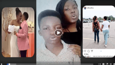 Ezekiel And Esther Run Off Social Media After Their Mum Legalizes Relationship With Another Lover