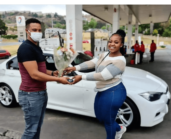 Husband surprises her with new house and BMW on 21st birthday