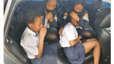 Brave school girl escaped kidnappers by jumping out of moving car
