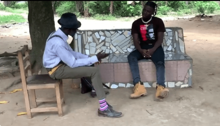 Stonebwoy Is The Latest Actor In Town Joins Lilwin To Shoot Cocoa Season TV Series