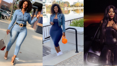 Desire Luzinda's New Beautiful Looks Reminds Fans Of Her Leaked Sextape as she Jets Back Home
