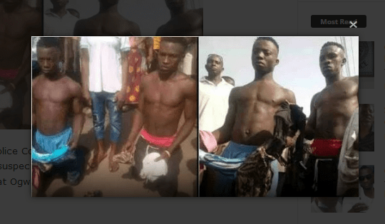 Police arrest 2 suspected Yahoo boys with coffin containing women panties