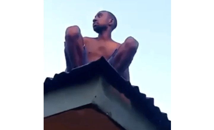 Alleged wizard returning from coven crash lands on roof top in Delta