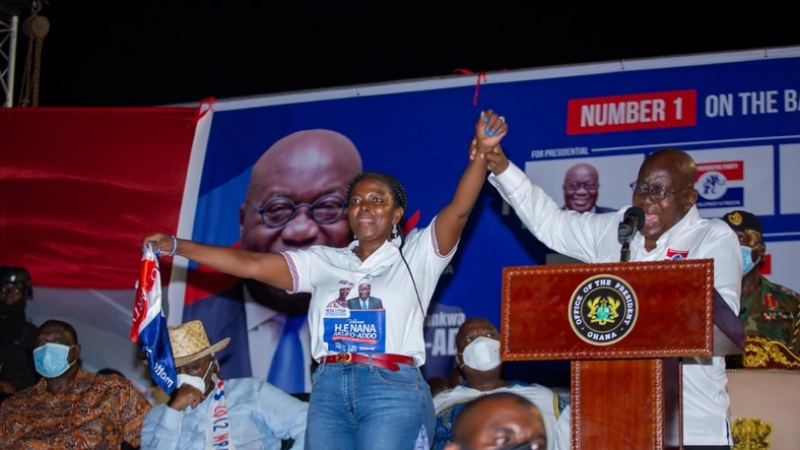 Lydia Seyram Alhassan has announced her victory in the December 7th elections.