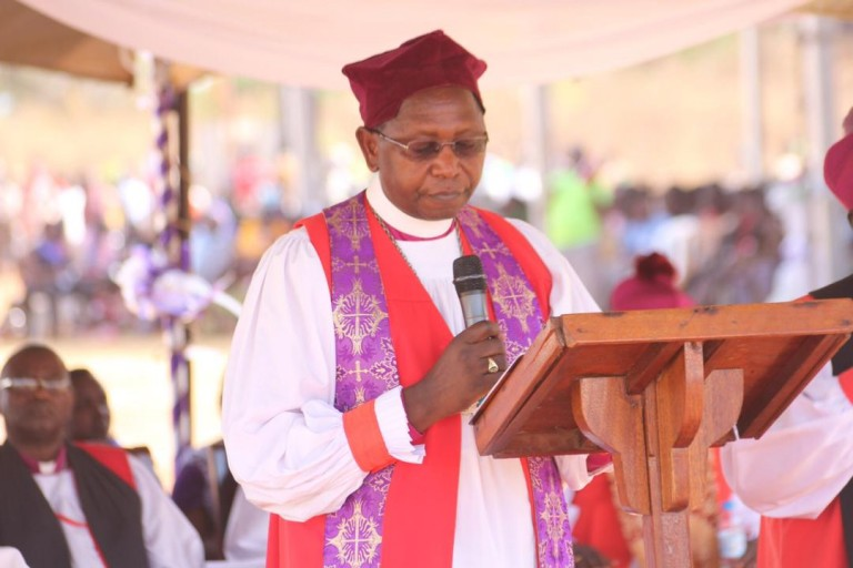 Archbishop Stanley Ntagali suspended from Church activities for bonking a married woman tubeless