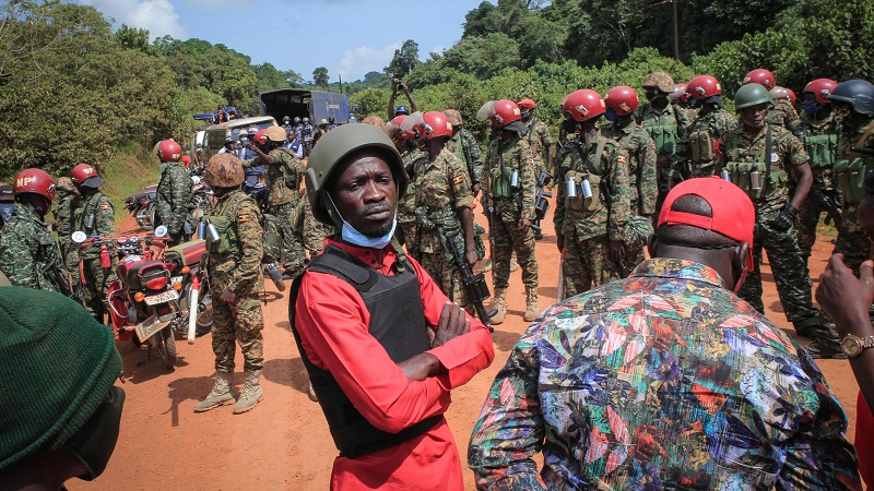 Bobi Wine Claims Military Broke Into His Home and Arrested Everyone they Found