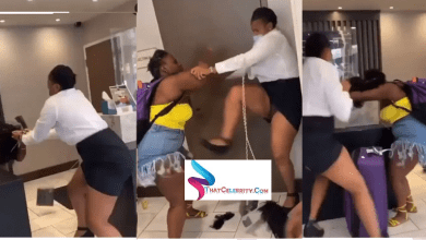 Drama in a hotel as two ladies fight naked over a man