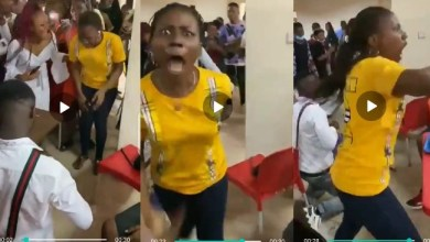 Mystery Babe Runs MAD As She Accepts Marriage Proposal