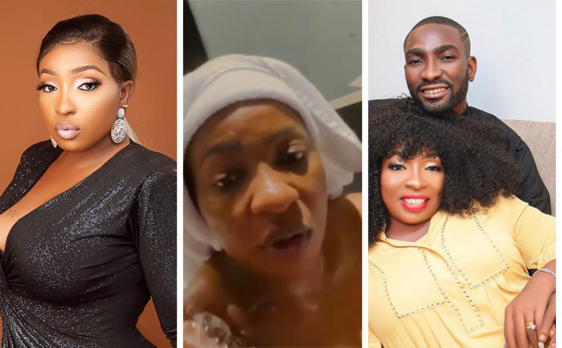 Nollywood actress, Anita Joseph and husband bathing video hits Online and is trending