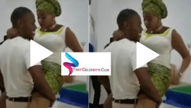This was happening right inside a church during a wedding – Lord come down fast (VIDEO)