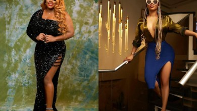 I haven't seen boobs this huge in my entire life - Toke Makinwa gushes over #BBNaija's Dorathy Bachor's boobs (video)