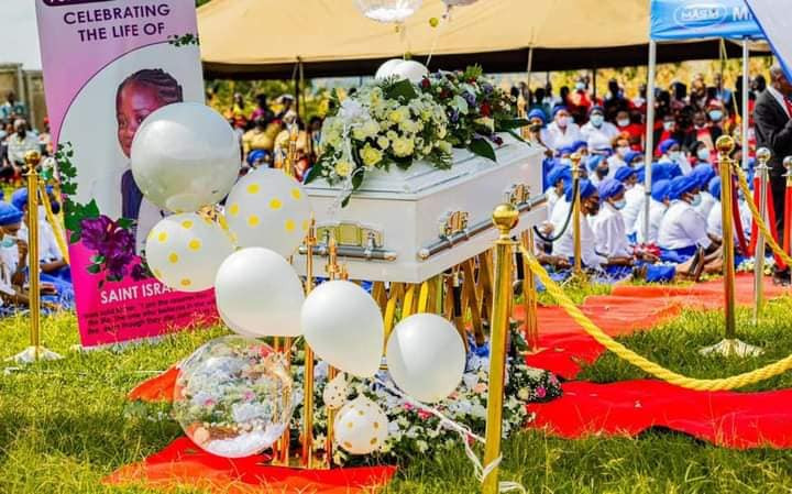 Photos from the funeral of Prophet Bushiri's 8-year-old daughter