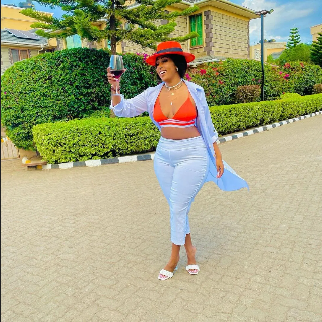 Kamba socialite, AMBER RAY, reveals her struggles and claims she became a millionaire at 26 years of age.