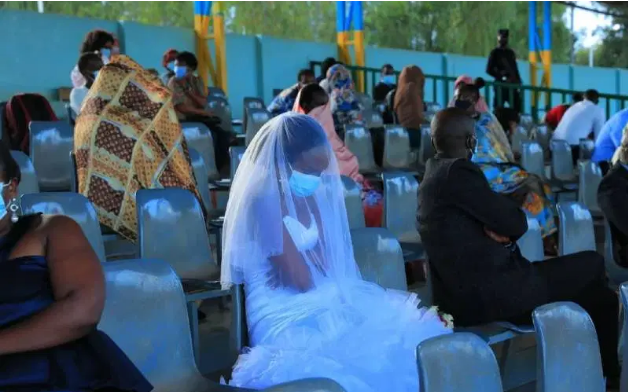 Newlyweds Forced To Spend First Night In Stadium As Punishment For Breaking Covid-19 Rules
