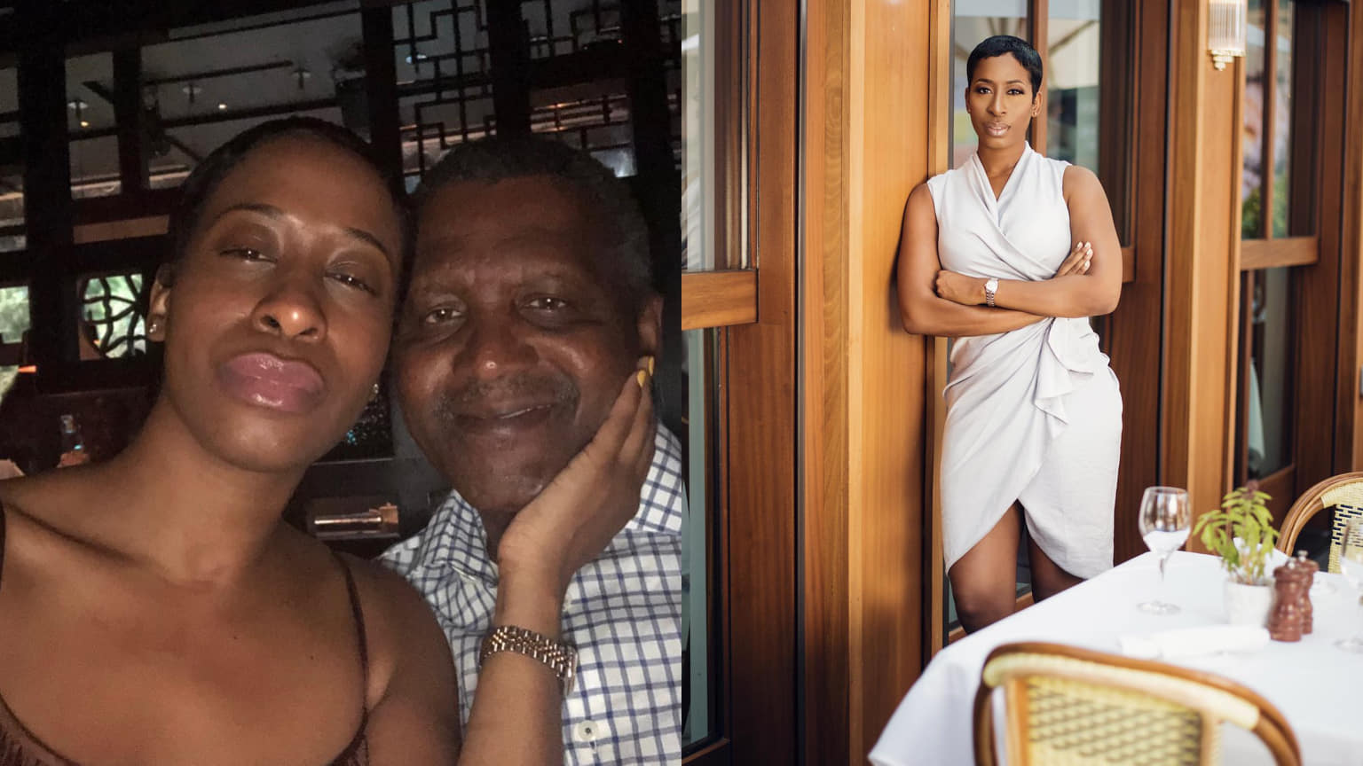 Side Chick Calls Out Nigerian Billionaire, Aliko Dangote For Dumping Her