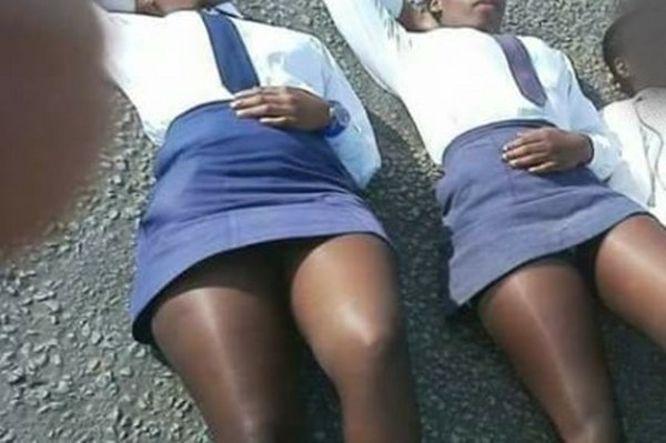 64 school girls fall pregnant after enjoying raw sex with road construction workers
