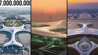 Awesome Pictures Of China's $17 Billion Airport With 4 Runways, 5G Wifi, Yoga Room And Other Amazing Features Goes Viral On Social Media