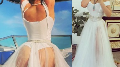 Caroline Danjuma puts her ample butt on display in sexy new photos