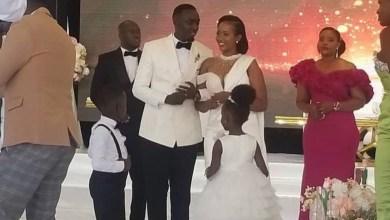 Nxt Radio Presenter Ronnie Mcvex Weds Girlfriend Faith in a Beautiful Wedding Ceremony