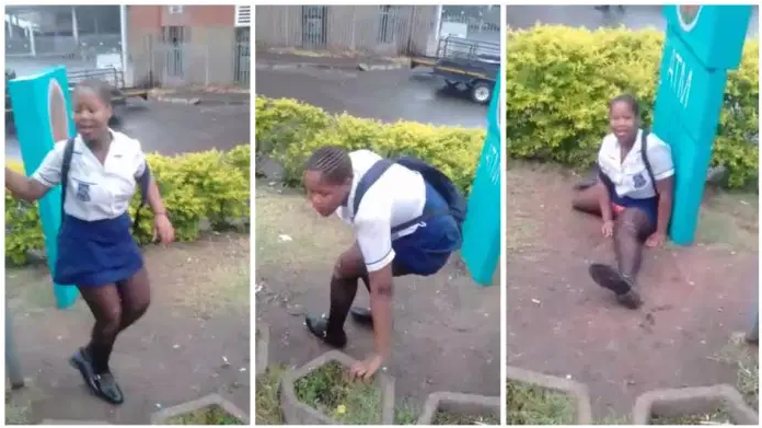 Drunk female student embarrasses herself after taking alcohol & showing her Pusxxy [video]