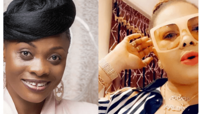 Evangelist Diana Asamoah jabs Nana Agradaa for 'supposedly' faking her repentance – Video
