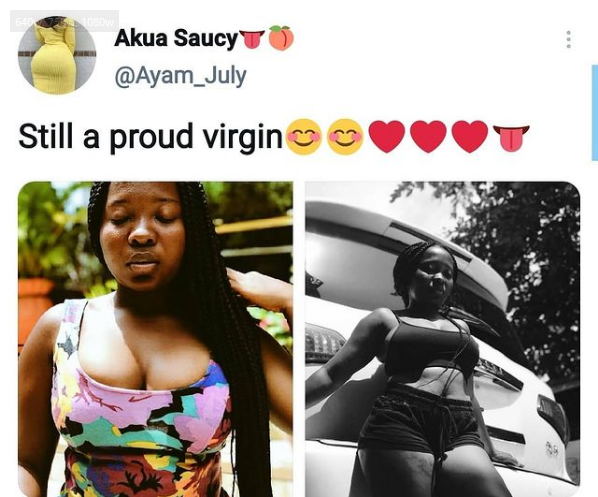Akua Saucy Whose Bedroom Videos And Photos Leaked Claimed She Is A Virgin
