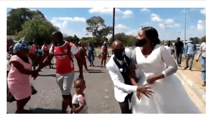 Baby Mama Attacks Bride During Secret Wedding