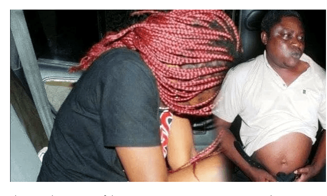 Shame As Landlord Is Caught Pants Down With A Tenant's Wife Who Had Not Paid Rent
