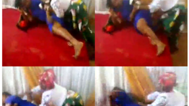 Trending video of 'pastor's wife and a female member' fight dirty inside a church