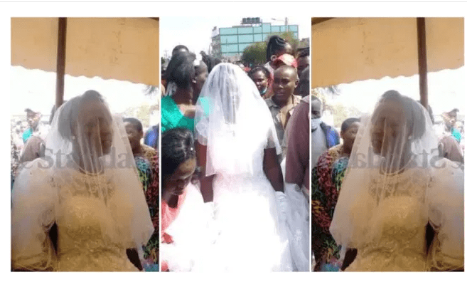 Woman dumps husband to marry the holy spirit -Photos