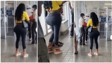 Lady with an extraordinary big behind leaves netizens with endless debate