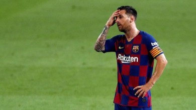 Lionel Messi 'banned from Barcelona training' as contract saga continues