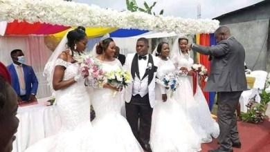 man marries four women at same time