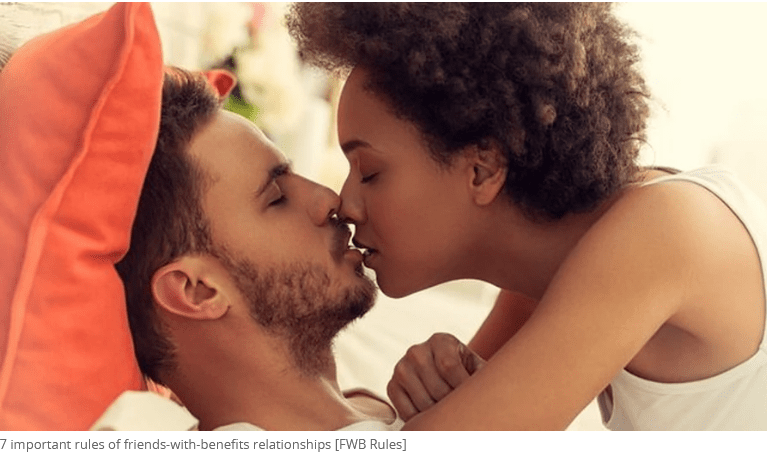 7 important rules of friends-with-benefits relationships