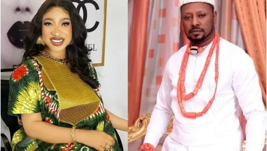 Tonto Dikeh reacts to an audio recording leaked today of her begging her ex-boyfriend, Prince Kpokpogri