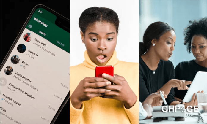 Lady mistakenly sends her nude photo to her company's WhatsApp group