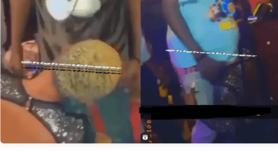 The world coming to an end? Ghanaian lady offers free Blow Job to male patrons at a nightclub (Watch)