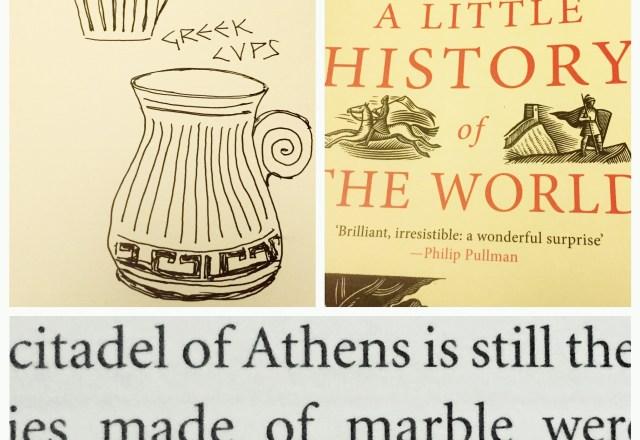Greek Column Cup
